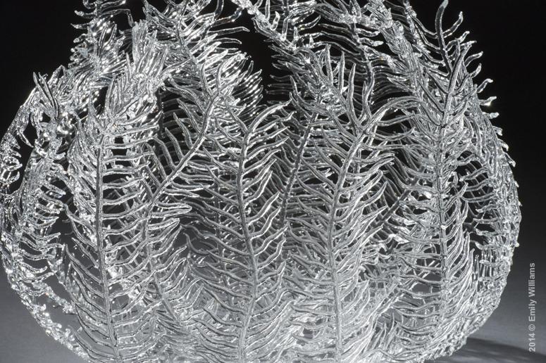 Glass Seaweed Detail